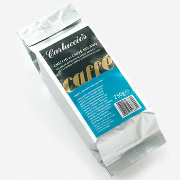 milano coffee sold by Carluccio's